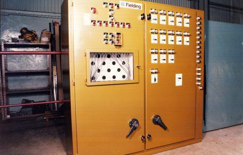 Accumulator Control Panel, O/No. A96110, c.1979