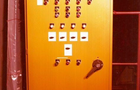 Accumulator Control Panel, O/No. A95900, c.1978, O/No. A95900, c.1978