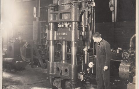 Photographs of presses from 1941