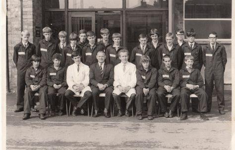 Apprentice intake 1969