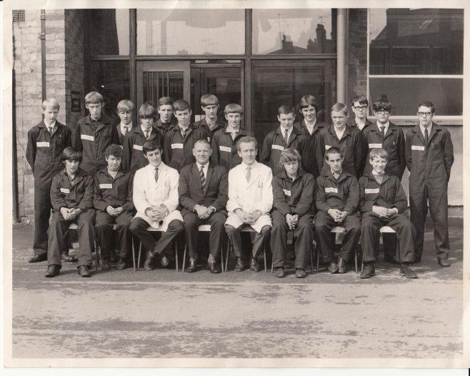 Apprentice intake 1969 | Courtesy of Richard Webb