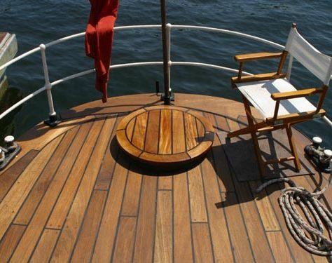 Newly restored aft deck | M.Phillips