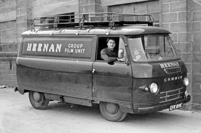 The 'Commer' Van, with Pete up! | Kindly supplied by Pete Skelton