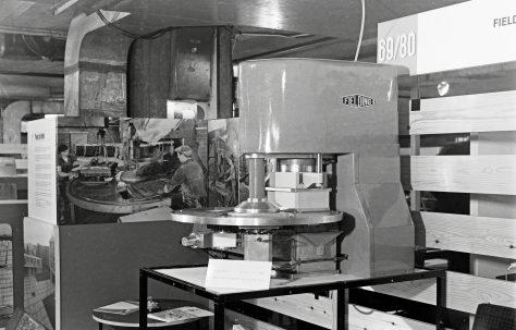 Model of a Three Mould Slab Press, c. mid 1960s