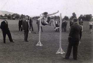 Sports Day - Ken won a barometer for coming second in the high jump