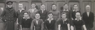 The Hockey Team - Ken is fourth from the right