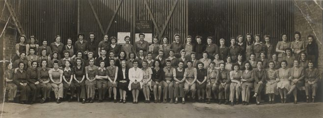 Fielding's female workers during World War II