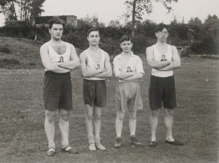 Apprentices on Sports Day