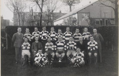 Atlas Works' rugby team 1936-1937