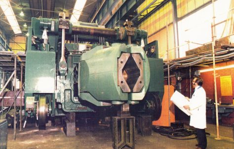 30 ton Railbound Manipulator, O/No. G95840/50, c.1979