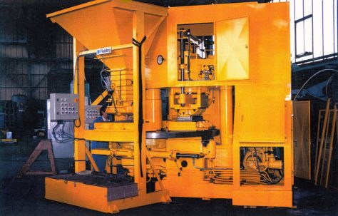 400 ton Three-Mould Press, Take-off and Tooling, O/No. 001-65770, c.1994