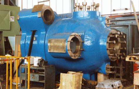 Spare Extrusion Press Main Cylinder, for a 5000 ton Loewy Press, O/No. 30-65850, c.1994