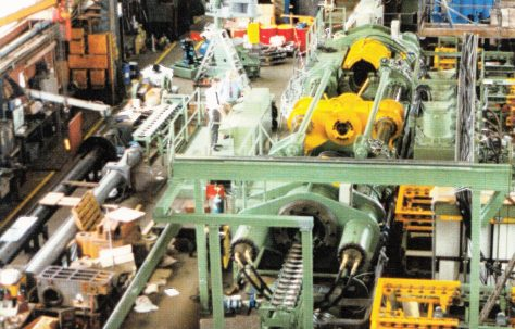 6MN DDI Press, with Automated Handling Equipment and Tooling, views taken under construction, O/No. 50-66030, c.1995