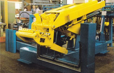 High-Speed Extrusion Press Billet Loader, O/No. 07-66150, c.1997