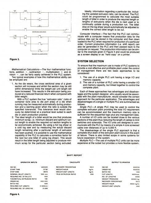 The Application of PLC to Aluminium Extrusion Process_03 | Supplied by John Bancroft