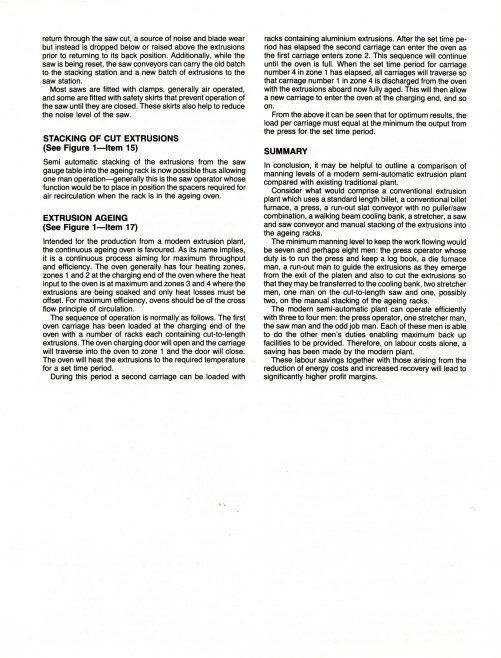 The Modern European Aluminium Extrusion Plant_04 | Supplied by John Bancroft