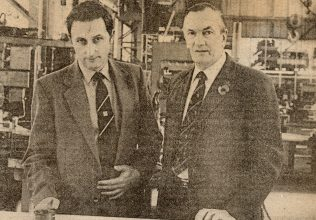 David Whittaker & Leslie Spooner, Two of the three Directors involved in the management 'buyout'