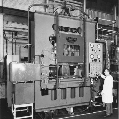 600 ton 'Fittings' Press Photo 7235   Fielding & Platt c.1970